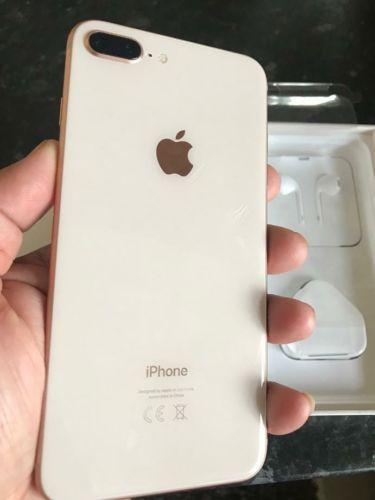 Apple Iphone 8 Plus 256gb Gold Unlocked Celulares Iphone Iphone 8 Plus Capinhas Iphone 8