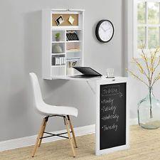En Casa Wandtisch Weiss Schreibtisch Tisch Regal Wand Klapptisch