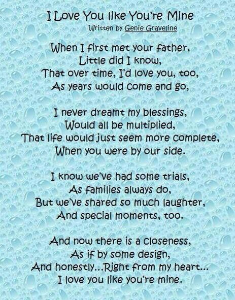 Step Parent Love Quotes Prepossessing 21 Best Two Families  One Love Images On Pinterest  Step