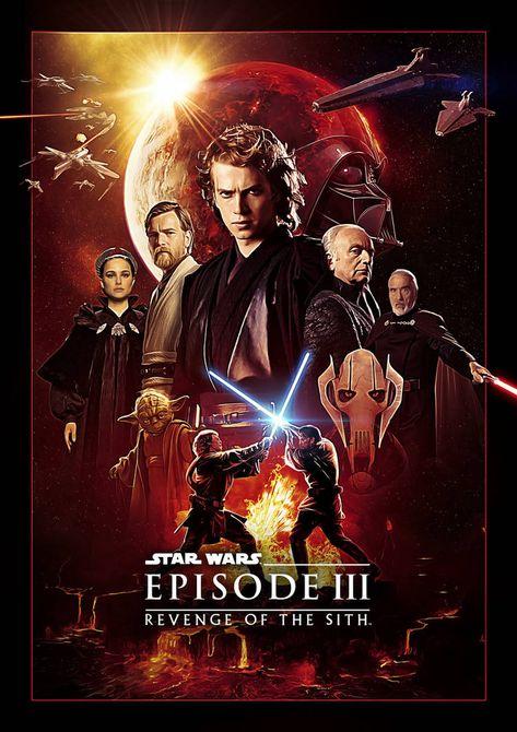 Star Wars: Episode 3 Fanart Poster by Uebelator on DeviantArt