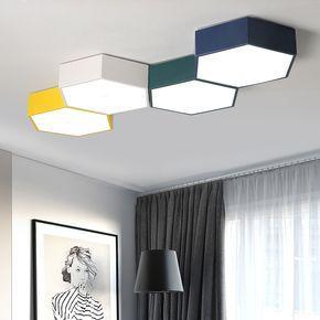 Tanie: DIY Plastra Miodu oświetlenie sufitowe LED lampy