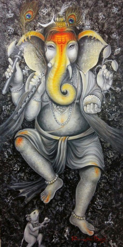 Morpankh Ganesha