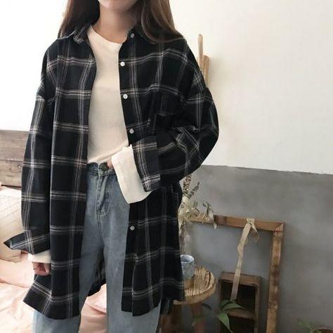 Stripe Long Shirt KPS073