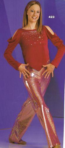 Check out those pants!  Razzy Dance Costumes MA 2 pc Jazz Modern Dancewear L@@K | eBay $28.99