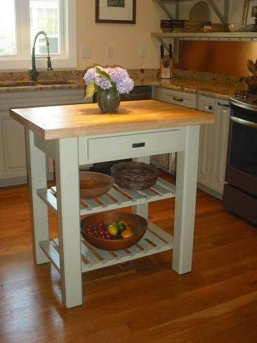 International Concepts Unfinished Kitchen Utility Table With Drawer Wc 3624 The Home Depot In 2020 Simple Wood Furniture Plans Kitchen Design Small Solid Wood Kitchens