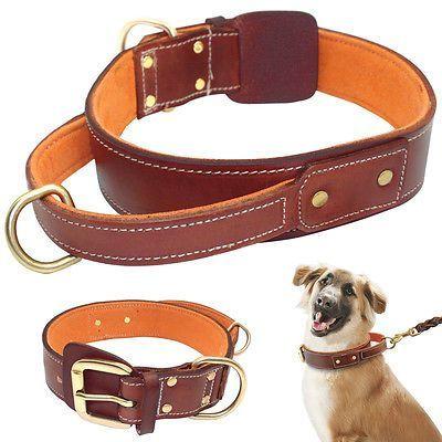 training leash Handmade custom tooled red leather leash extra long leather leash training lead
