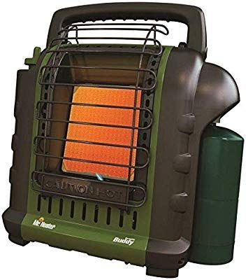 Mr Heater F232010 Mh9bx Buddy 4 000 9 000 Btu Indoor Safe Portable Propane Radiant Heater Green Portable Heater Radiant Heaters Heater