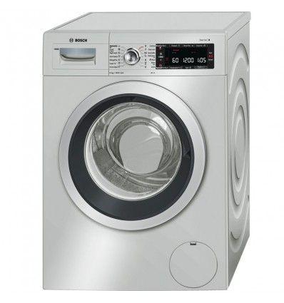 ماشین لباسشویی بوش Waw3266xir دور موتور 1600 دور در دقیقه ظرفیت 9 کیلوگرمی و مصرف انرژی A ساخت کشور Bosch Washing Machine Washing Machine Laundry Machine