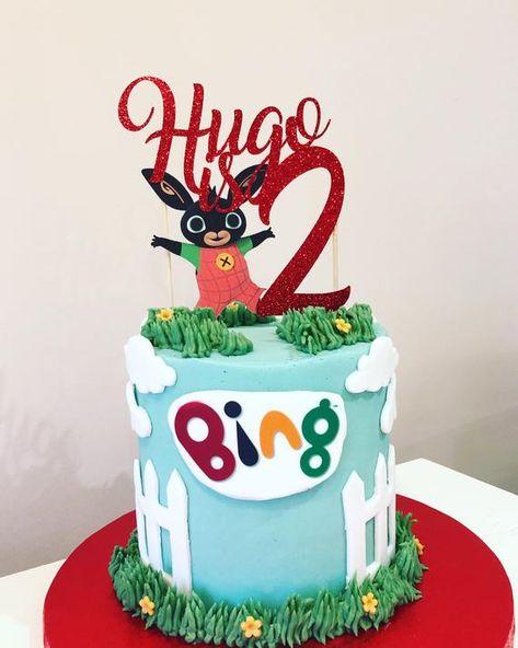 Personalised Bing Bunny Cake Topper
