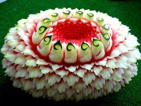 Watermelon flower