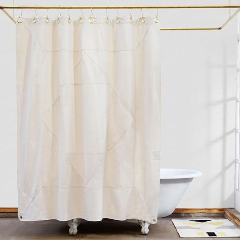 Narlai Hidden Beach Shower Curtain Made In Usa Beach Shower