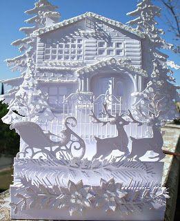 Che meraviglia, la fustella della casa vittoriana, di Marianne Design. Mi piace in un modo incredibile. Einfach zauberhaft, dieser S...
