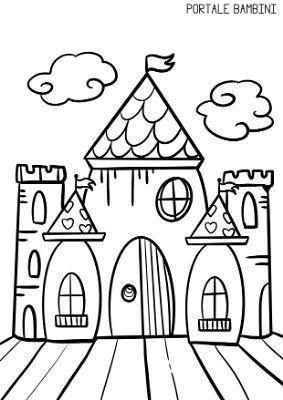 Immagini Castelli Da Colorare.Disegni Di Castelli Da Stampare E Colorare Gratis Portale Bambini Disegno Di Castello Disegni Di Mandala Da Colorare Disegni Da Colorare