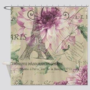 Lyingcat Mug Eiffel Tower Art Paris Eiffel Tower Floral
