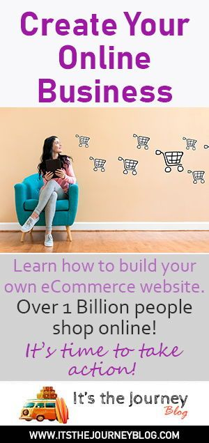 Create your online business  Learn how to build your own eCommerce