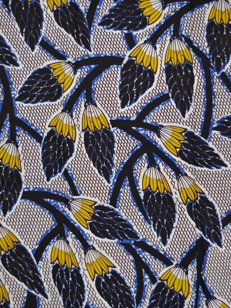 Real Wax Print African Fabric 6 Yards Cotton by Africanpremier
