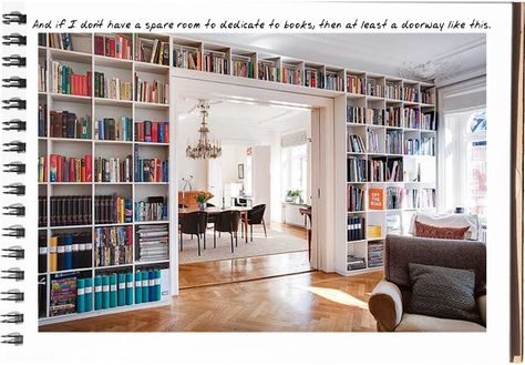 running out of space for your books? check this out