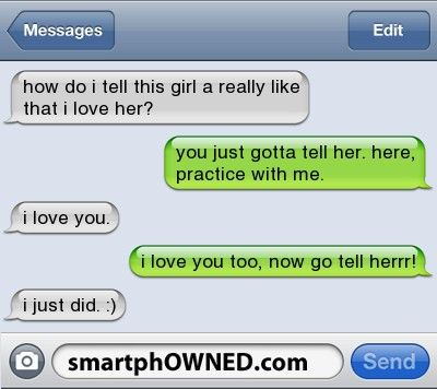 Text A Funny You To Like Girl