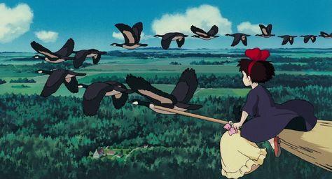 HD wallpaper: Studio Ghibli, Kiki's Delivery Service, anime, anime girls