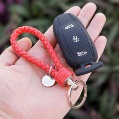Silicone Rubber key fob skin set for Tesla Model S X Remote keyless enter holder