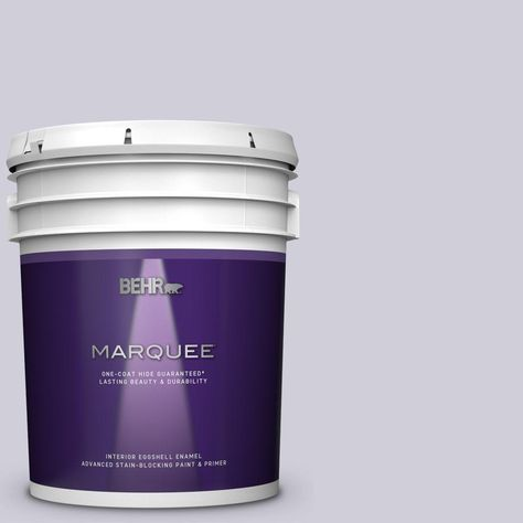 latex Behr purple paint