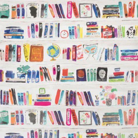 Kravet Bella Books Confetti Wallpaper - Trade - Kravet Bella Books Confetti Wallpaper / BELLA BOOKS / CONFETTI
