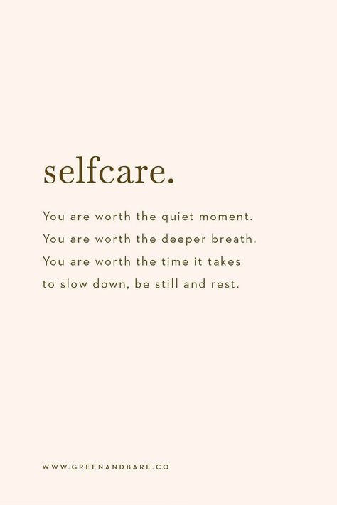 """""""You are worth the quiet moment. You are worth the deeper breath. You are worth the time it takes to slow down, be still and rest"""" ~ Morgan Harper Nichols  Selfcare, quite simply is taking time to do something that refreshes you, and if that means having a nap, reading a book, laying on your bed and staring at the ceiling, locking yourself in the bathroom for 10 minutes or heading outside for a walk. Then stop and make the time. What does resting look like for you? #selfcare #selfcareideas """""""