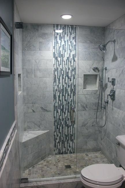 Shower Glass Block Shower Wall Designs Good Example Of A Recessed Product Niche In Tile Which Keeps The Shower Neat And Shower Wall Tile De Rekonstrukciya Dushevoj