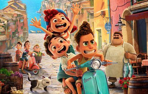 'Luca': Pixar divulga novo cartaz BELÍSSIMO de sua próxima animação; Confira! | CinePOP