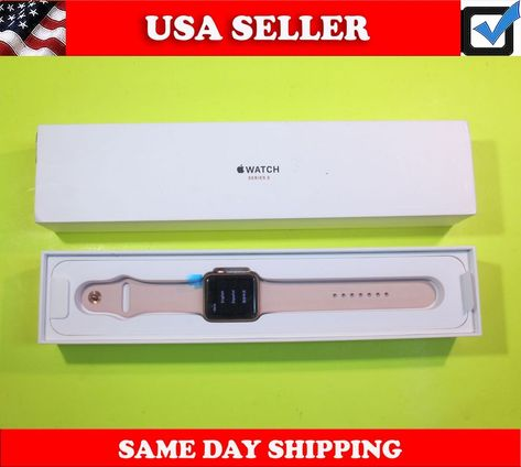 Ebay Sponsored Apple Watch Series 1 42mm 8gb Rose Gold Aluminum