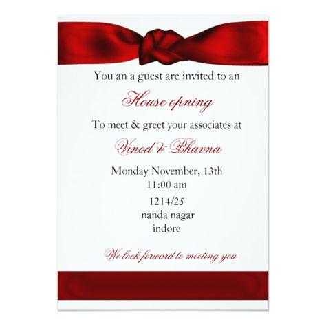 red elegant Corporate party Invitation Zazzle sa Party