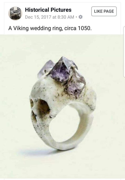 "When a ""historical"" FB group shares a picture of a very modern and purchasable product as a Viking Relic - 9GAG"