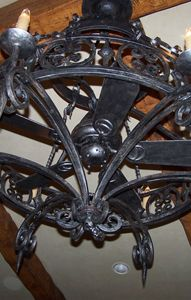 Pin by stephanie kahn on ideas for the house pinterest ceiling pin by stephanie kahn on ideas for the house pinterest ceiling fan wrought iron and ceilings mozeypictures Images