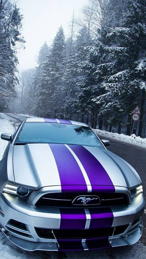 Ford Mustang Snow Iphone Wallpaper Iphone Wallpapers