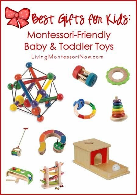 Here are some of my favorite picks for Montessori-friendly baby and toddler toys.