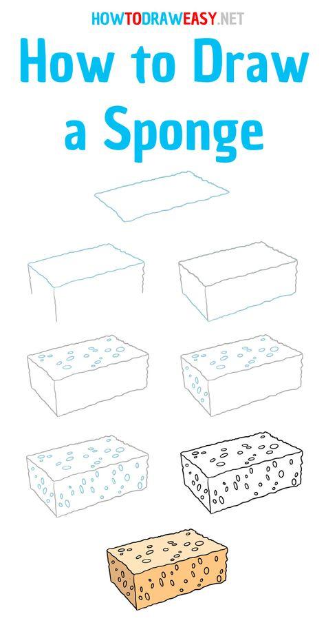 #sponge #stepbystep #easydrawing #drawing #draw #drawingtutorials #drawingtutorial #howtodraweasy #sketching #art #artwork #beginners