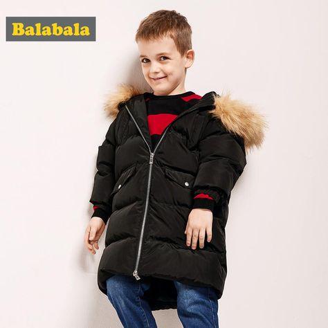 Baby Girls Boys Kids Down Jacket Coat Autumn Winter Warm Children Clothes US