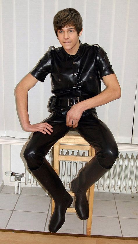 Two Austins in rubber and boots… did those a long time ago :)