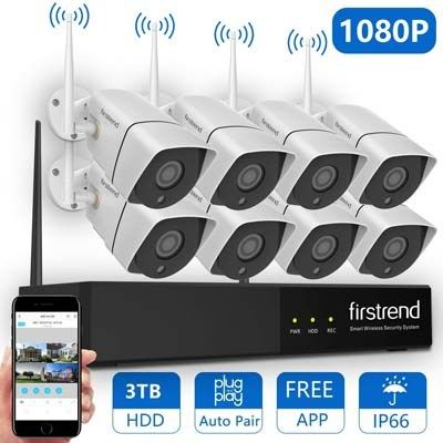 Top 10 Best Outdoor Wireless Security Camera System With Dvr In Reviews Wireless Security Camera System Wireless Security System Wireless Home Security Systems