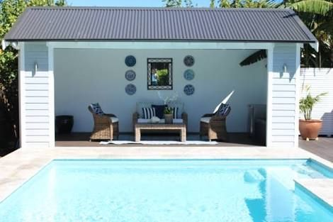 Image Result For Pool Cabana Australia Small Pool Houses Pool Houses Pool Gazebo