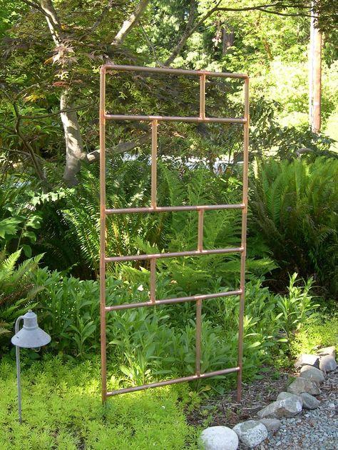 diy bamboo grape trellis port potager tips pinterest grape