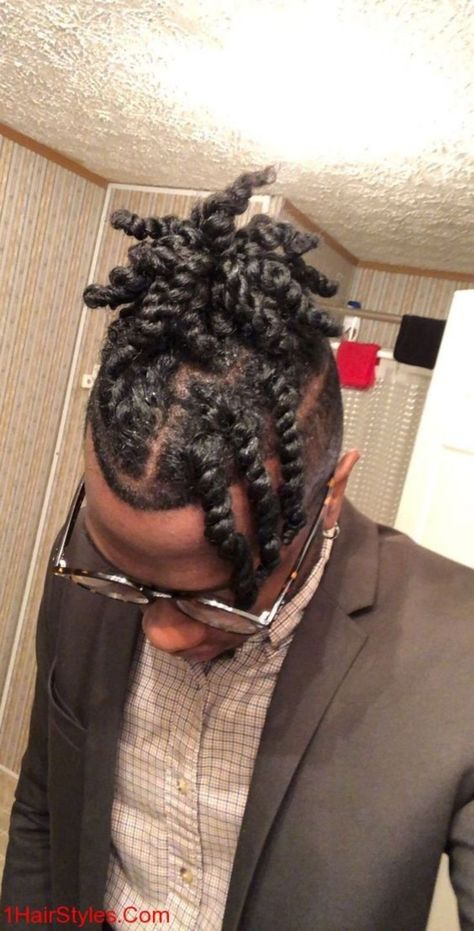 51 Black Hair Style for Men to Make You Cool outfitmax.com/...   - Hairstyle - #Black #Cool #Hair #HAIRSTYLE #men #outfitmaxcom #Style