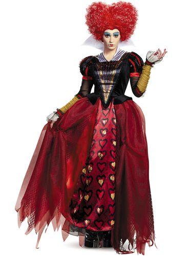 Disfraz De Reina De Corazones Alicia A Traves Del Espejo Para Mujer