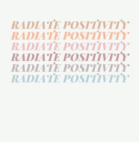 Radiate Positivity Art Print - 11x14 inch