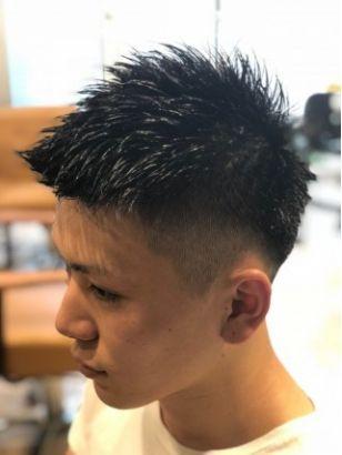 2019年夏 メンズ ベリーショートの髪型 ヘアアレンジ 人気順 2