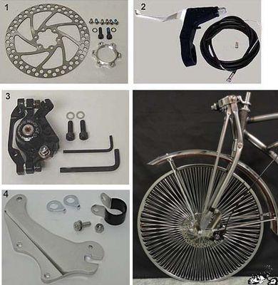 Lowrider Bicycle Spring Fork Bolt//Ring Chrome Beach Cruiser Chopper Bike Trike