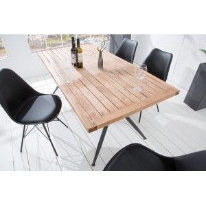 Industry Tomor Akac Etkezoasztal 180cm Design Kulteri Belteri Asztal Modern Etkezo B Solid Wood Dining Table Wood Furniture Plans Loft Decor
