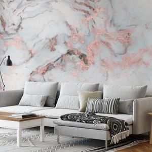 Gold Marble Wallpaper Abstract Peel And Stick Wallpaper Wall Etsy Marble Wall Mural Marble Wallpaper Marble Vinyl