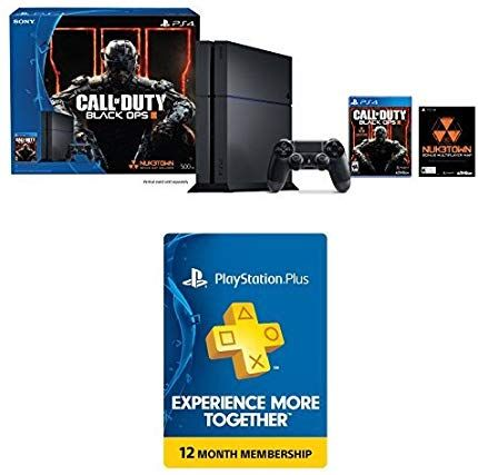 731bd51150b57 Amazon.com  PlayStation 4 500GB Console - Call of Duty Black Ops III Bundle  with 1-Year PlayStation Plus Membership  Video Games