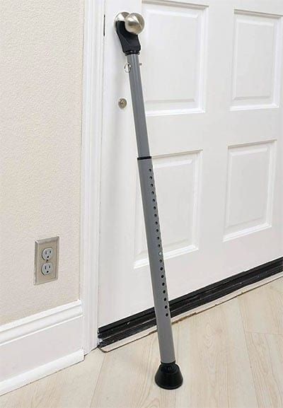 Door Security Bar By Brinks Home Security Home Appliances